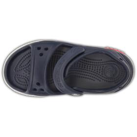 Crocs Crocband II Sandal PS Kids, blu/bianco